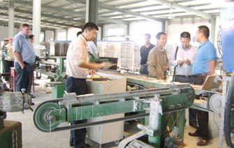 Pump production line