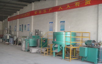 Mix powder process